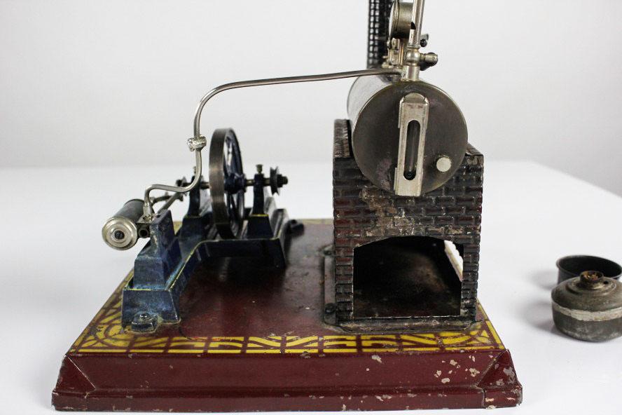 dampfmaschine ernst plank n rnberg um 1900 kosmos incl. Black Bedroom Furniture Sets. Home Design Ideas