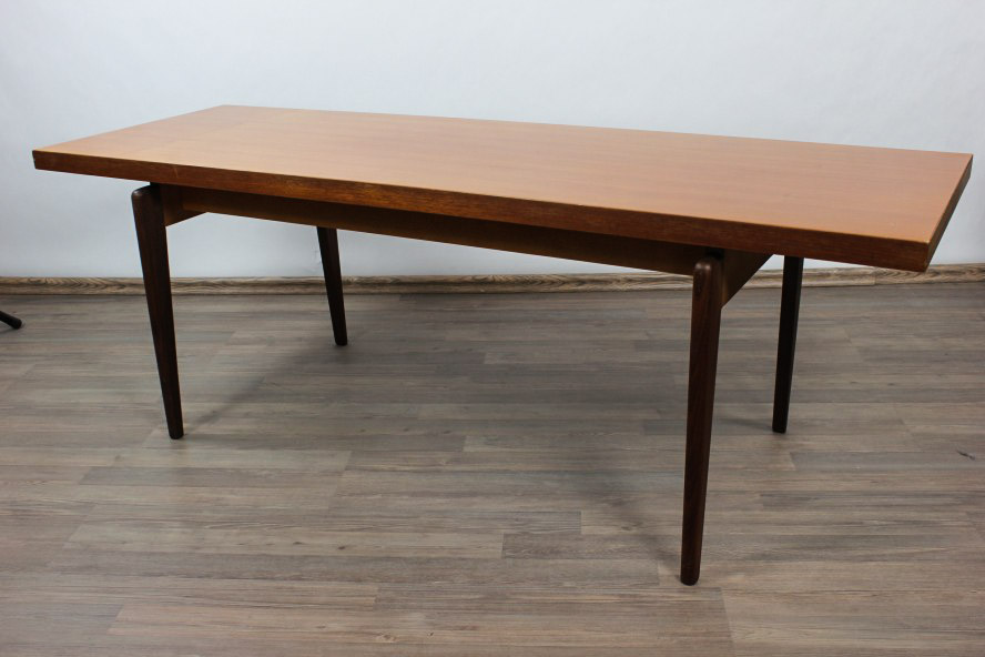 Couch tisch teak holz thonet 150 x 50 cm x 52 cm coffee for Table rrq 2015 52