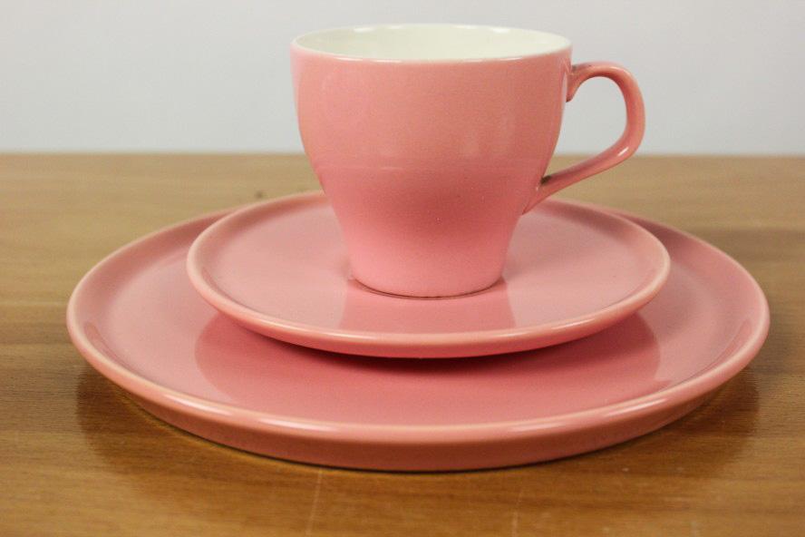 2 kaffee gedecke melitta ascona geschirr pastell rosa porzellan service vintage ebay. Black Bedroom Furniture Sets. Home Design Ideas