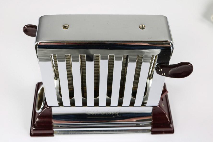 antik klapp toaster modell elektrol d rex turn over. Black Bedroom Furniture Sets. Home Design Ideas