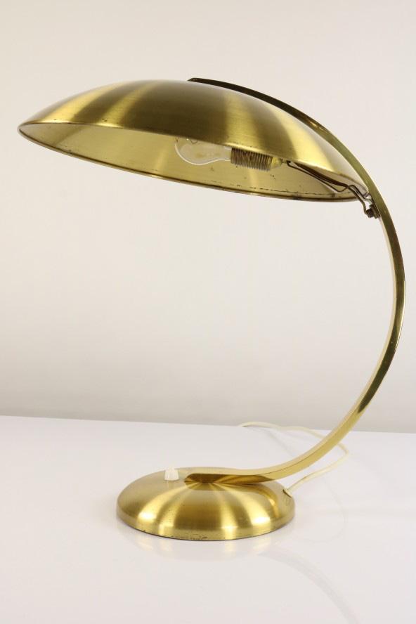 Alte Hillebrand Tisch Lese Lampe Messing Schreibtisch Leuchte 30er 50er Jahre eBay