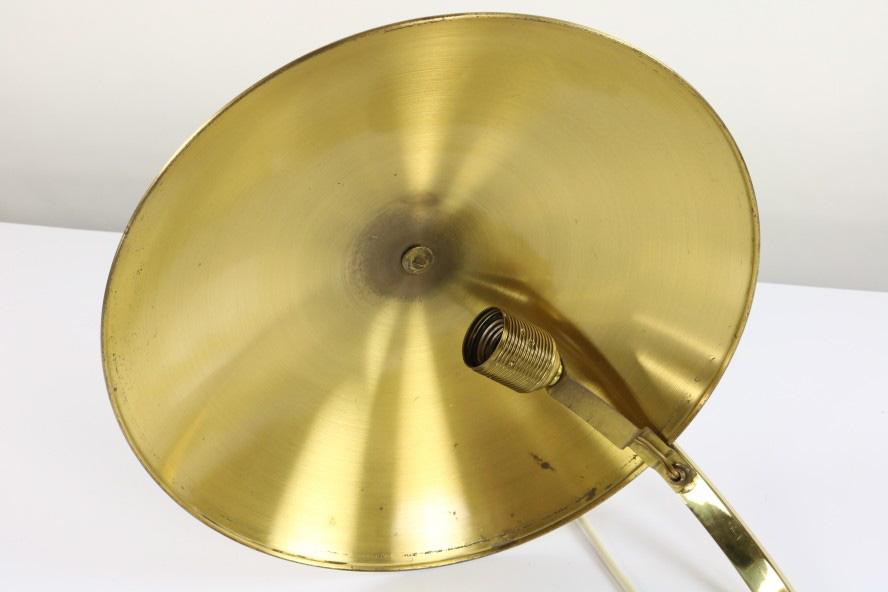 Hillebrand Messing Lampe - Alte Hillebrand Tisch Lese Lampe Messing Schreibtisch Leuchte 30er 50er Jahre eBay