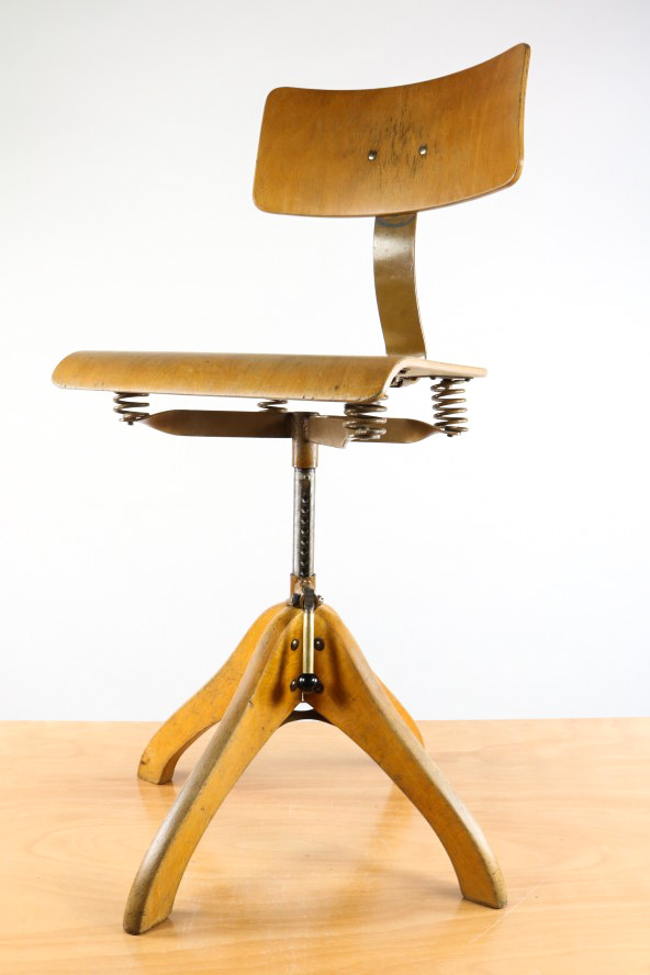 Polstergleich h2 standard werkstatt stuhl loft home office for Drehstuhl designklassiker